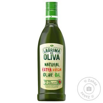 Масло оливковое Lagrima de Oliva Natural Extra Virgin 0,25л