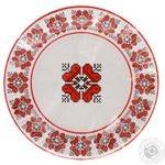 Набір посуду Уніпак Вишиванка паперовий одноразовий 6шт