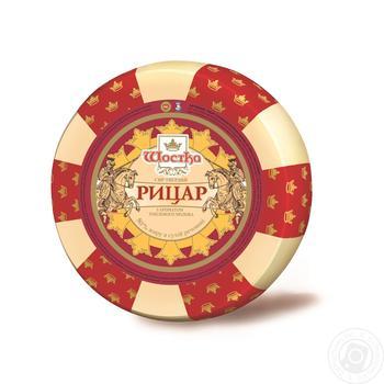 Сыр Шостка Рыцарь со вкусом топленого молока 50% 210г