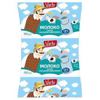 Молоко Varto 1% ультрапастеризованное 900г - купить, цены на Varus - фото 1