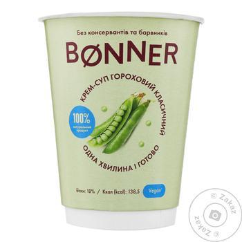 Крем-суп Bonner гороховий 50г - купити, ціни на CітіМаркет - фото 1