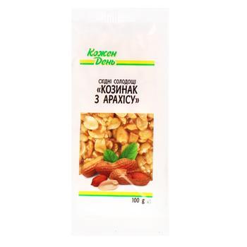Козинак Кожен день арахісовий 100г - купити, ціни на Ашан - фото 1