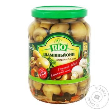 Rio Pickled Champignons 690g - buy, prices for Auchan - image 1