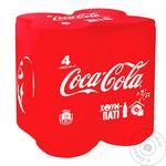 Напиток газированный Coca-Cola ж/б 4х0,33л - купить, цены на Восторг - фото 1