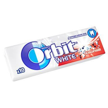 Orbit White Chewing Gum with Mint Flavor 14g - buy, prices for EKO Market - photo 1