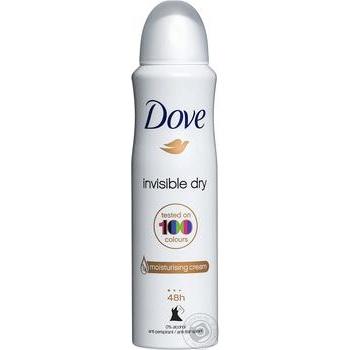 Антиперспирант Dove аэрозоль невидимый 150мл
