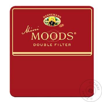 Moods Mini Double Filter Cigars 10pcs