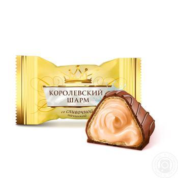 Конфеты АВК Королевский шарм со сливочной начинкой весовые - купить, цены на Ашан - фото 3