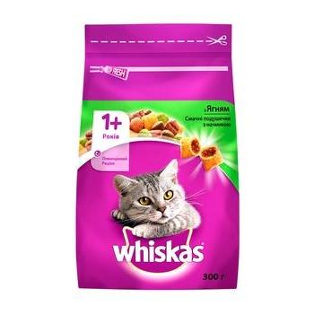 Корм сухий Whiskas для дорослих котів з ягням 300г