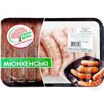 Колбаски для гриля М'ясна Весна Мюнхенские охлажденные
