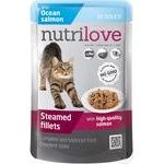 Food Nutrilove salmon in sauce for cats 85g - buy, prices for Novus - image 1