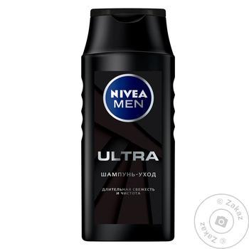 Шампунь-уход Nivea Ultra 250мл - купить, цены на Novus - фото 1