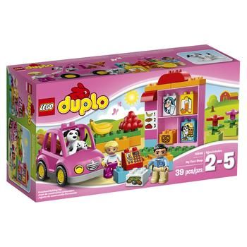 Конструктор LEGO Дупло Виль Супермаркет для детей от 2 до 5 лет 39 деталей