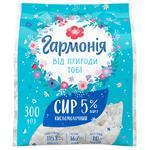 Сир кисломолочний Гармонія 5% 300г