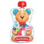 Bambolina Apples and Raspberries Puree with Cream for Children from 6 months 90g