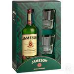 Jameson Whiskey 40% 0,7l +2glasses
