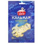 Кальмари Varto сушені солоні 35г