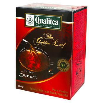 Чай Qualitea черный крупнолистовой 100г