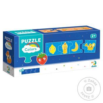 DoDo Puzzle Association Colors 24 elements - buy, prices for MegaMarket - image 1