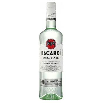Ром Bacardi Carta Blanca 40% 0,5л