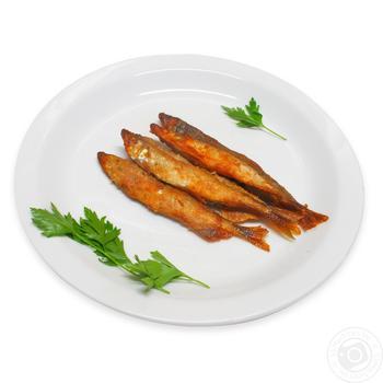 Рыба жареная Корюшка