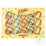 Набор  E.Wedel Barylki Бочечки микс c алкогольными начинками в шоколаде 300г