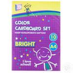 Кольоровий картон Cool for school 10 аркушів