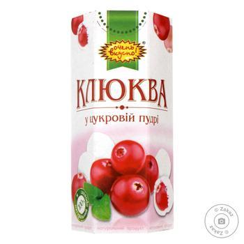 Dragee cranberry Ochen vkusno in powdered sugar 65g - buy, prices for MegaMarket - image 1