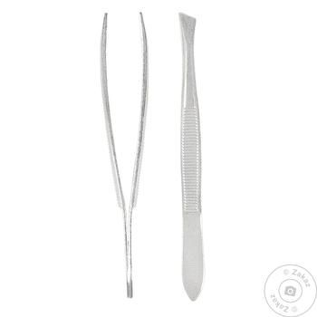 Пинцет косметический Titania Золингер 1060/В согнутый