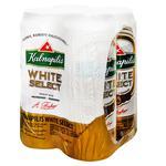 Пиво Kalnapilis White Select 4*0,5л з/б