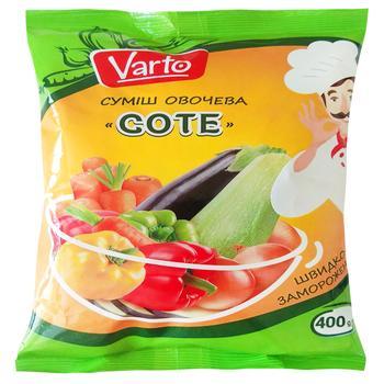 Овочева суміш Varto Соте заморожена 400г - купити, ціни на Varus - фото 1