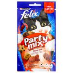 Ласощі  для котів Felix Party Mix Гриль мікс 60г