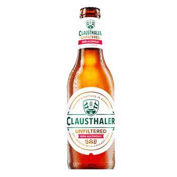 Пиво Clausthaler нефільтроване безалкогольне 0,5% 0,33л - купити, ціни на МегаМаркет - фото 1
