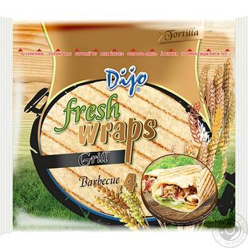 Тортилья Dijo Grill пшеничная 250г - купить, цены на Восторг - фото 1