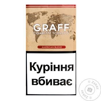 Graff American Blend Tobacco 30g - buy, prices for EKO Market - photo 1