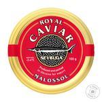 Икра черная Caviar Malossol севрюги 100г