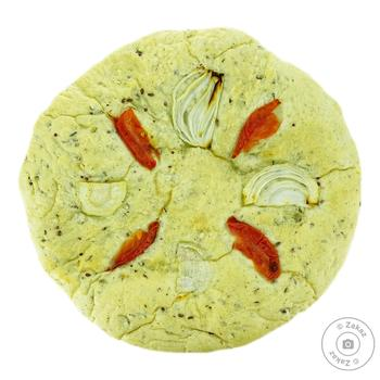 Focaccia with tomatoes 370g - buy, prices for Furshet - image 1