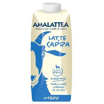 Молоко Amalattea Intero козье 3,9% 0,5л