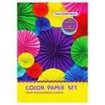 Набір кольорового паперу CFS А4 CF05280-11