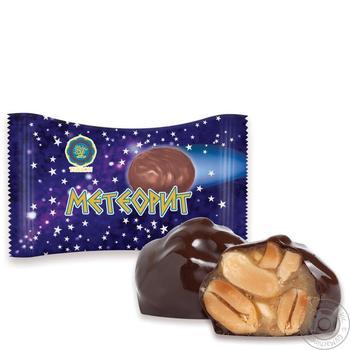 Конфеты Turron Метеорит с медом и арахисом в глазури весовые