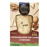Сыр Мукка голландский гауда с орехом 240г