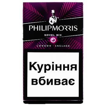 Цигарки Philip Morris Novel Mix - купити, ціни на CітіМаркет - фото 1