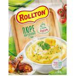 Пюре картопляне Роллтон зі смаком курки 40г - купить, цены на Ашан - фото 1