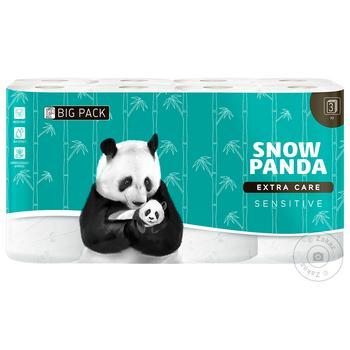 Туалетная бумага Снежная панда Extra Care Sensitive 16 шт