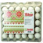 Яйцо куриное Ясенсвит Украина С2 30шт (цвет товара на фото может отличаться от цвета товара на полке)