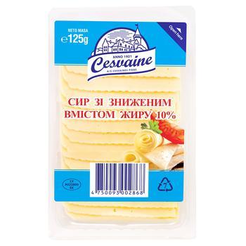 Сир Cesvaine зі зниженим вмістом жиру 10% 125г
