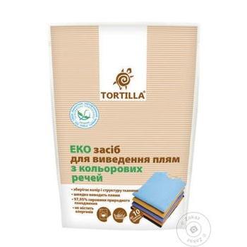 Средство для удаления пятен Tortilla для цветных вещей 200г