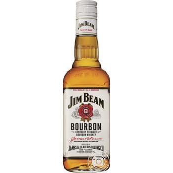 Whiskey Jim Beam White Bourbon 40% 500ml