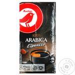 Кофе молотый Auchan Arabica Espresso 250г