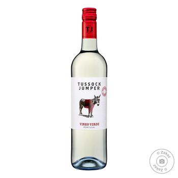Вино Tussock Jumper Vinho Verde белое сухое 11% 0.75л
